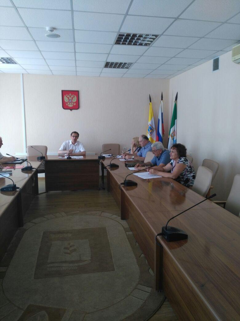 Рабочая встреча в Железноводске