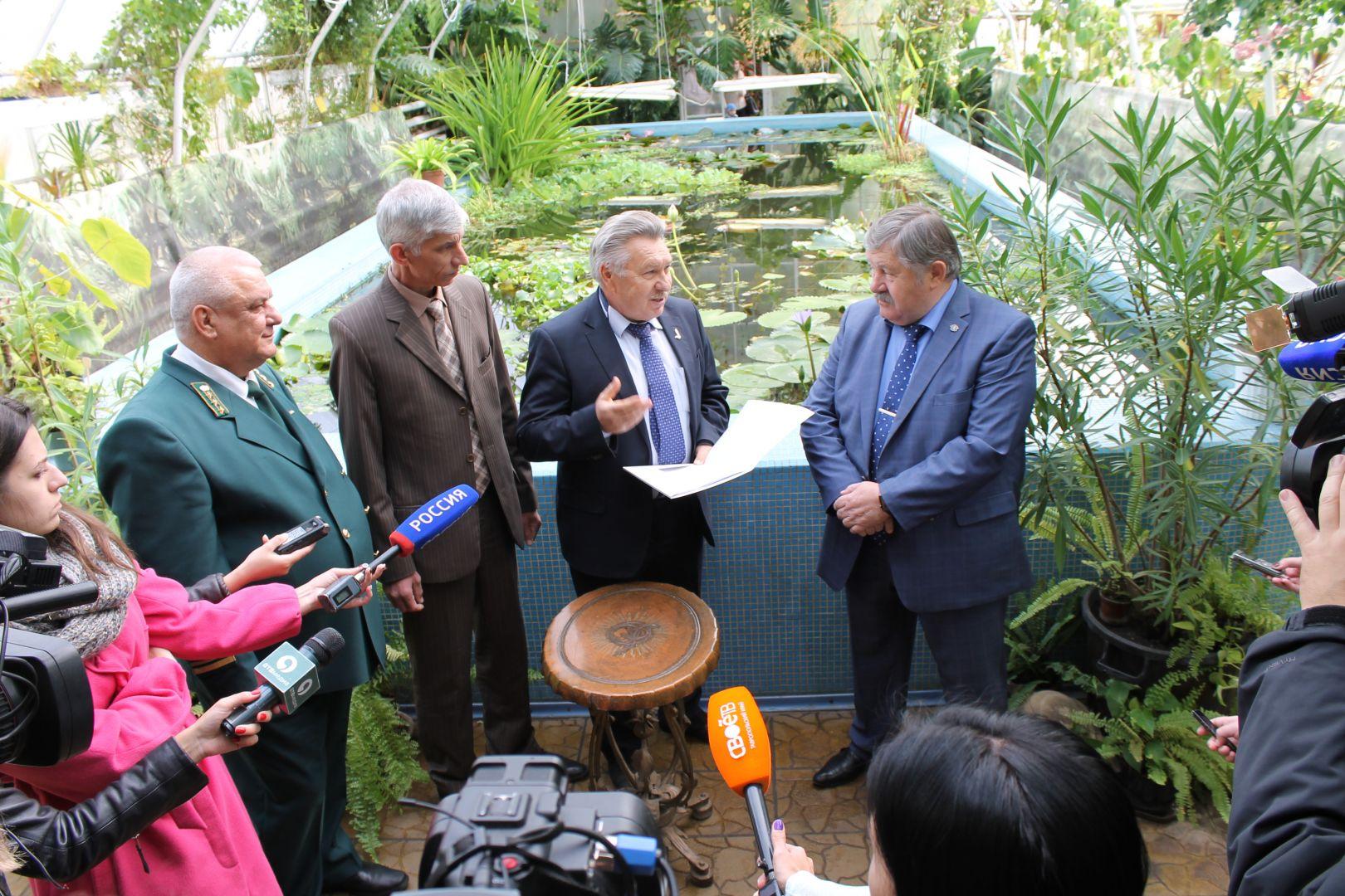 Проект «Зеленого щита» Ставрополя готов к общественным слушаниям