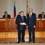 Награда от судейского сообщества  руководителю общественников Ставрополья