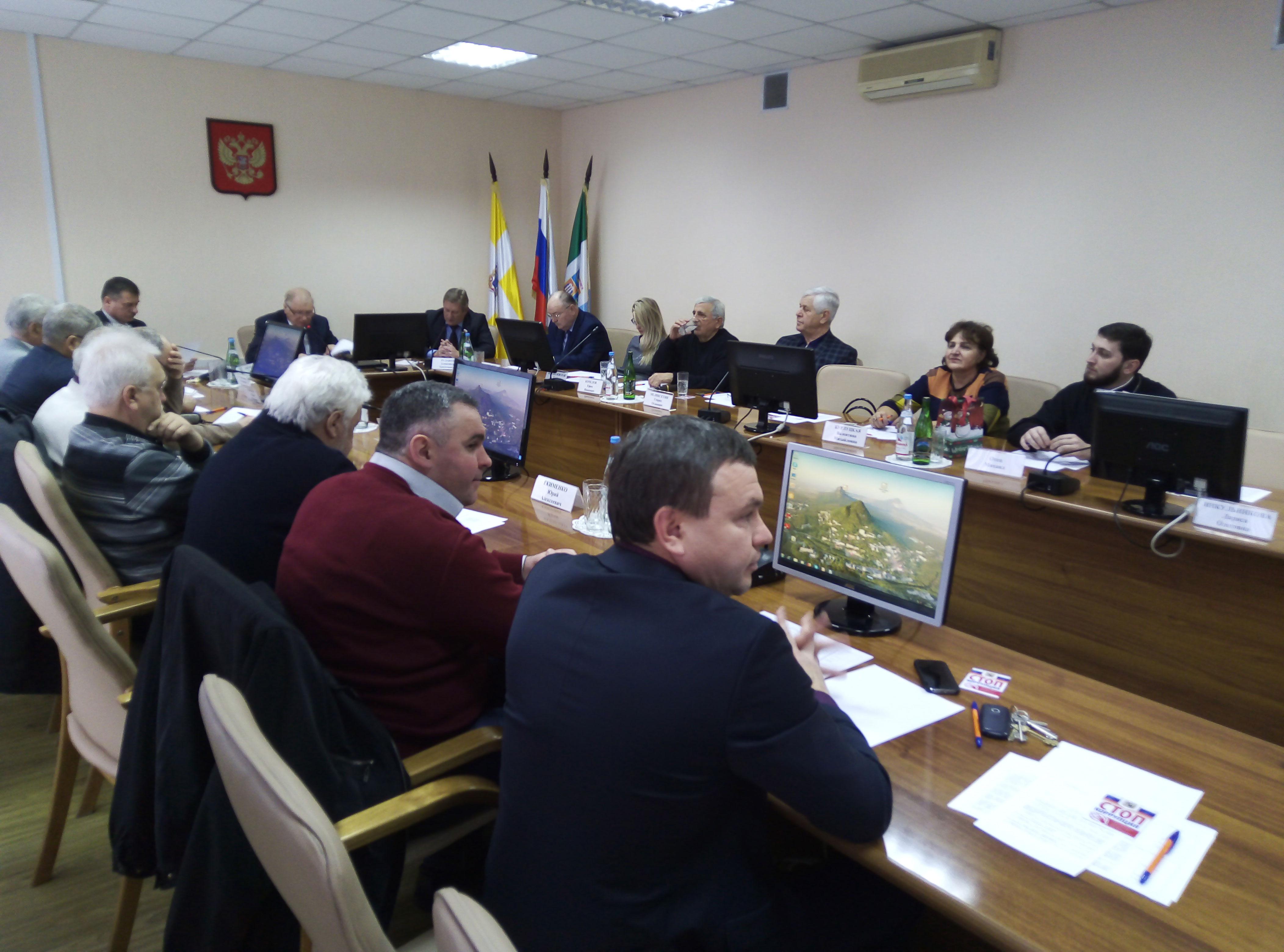 Общественный совет города-курорта Железноводска: палитра вопросов в конце уходящего года и план работы на год грядущий