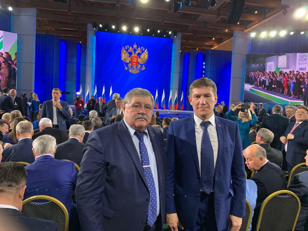 Николай Кашурин был приглашен на Послание Президента России