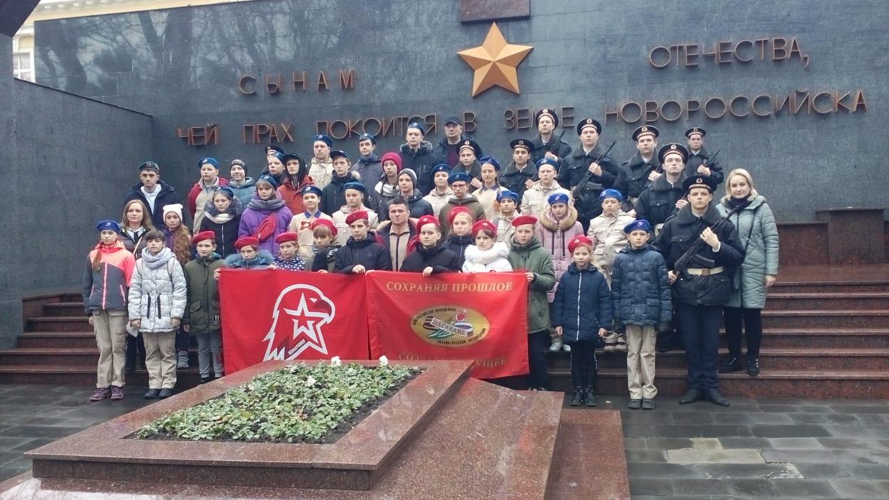 Юные патриоты Ставрополья побывали на Малой земле