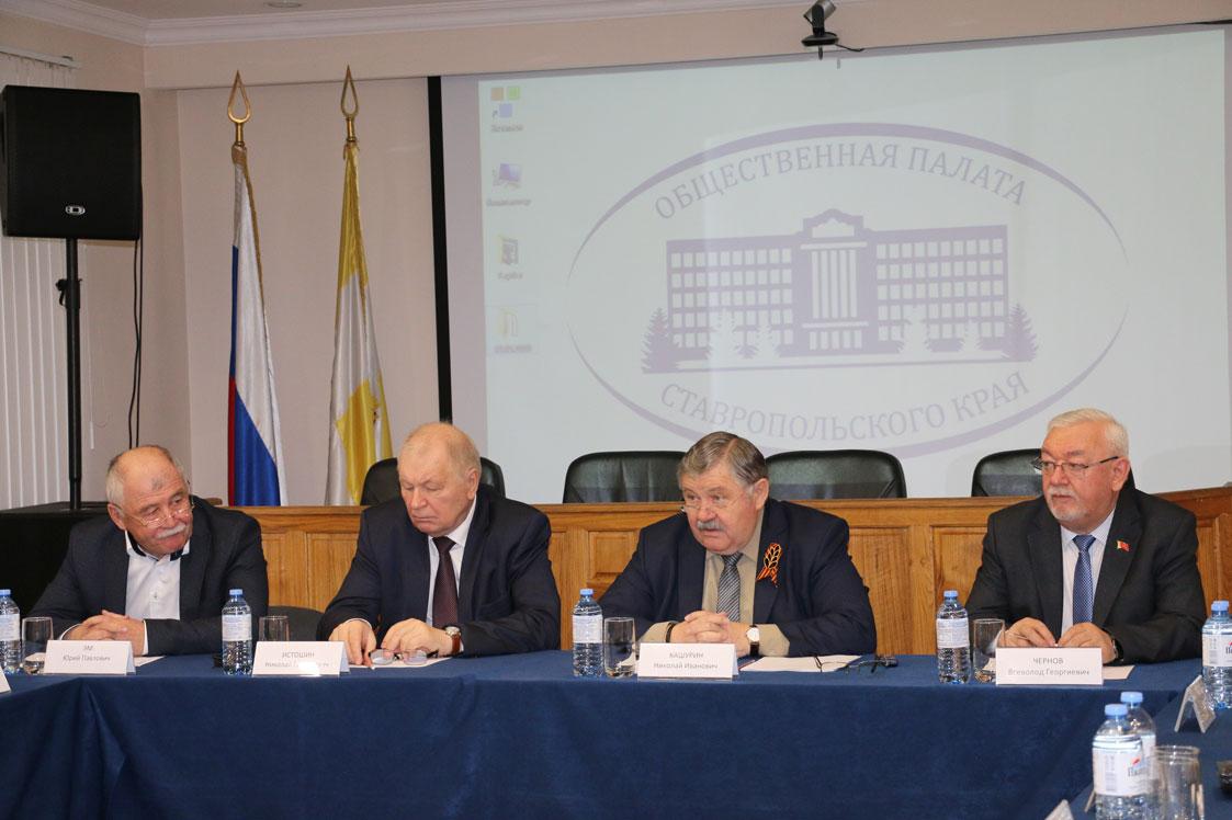 Кто будет представлять Ставрополье в Общественной палате России – уже известно